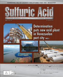 Sulfuric Acid Today 2013 Spring Summer Issue