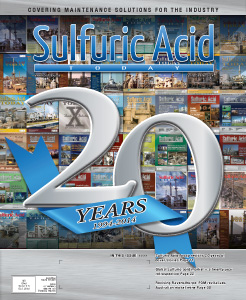 Sulfuric Acid Today 2014 Spring Summer Issue
