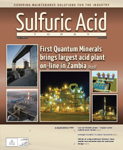 Sulfuric Acid Today 2015 Fall Winter Issue