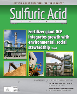Sulfuric Acid Today 2016 Fall Winter Issue