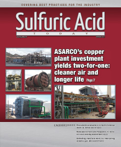 Sulfuric Acid Today 2017 Fall Winter Issue