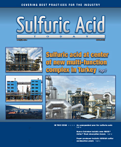 Sulfuric Acid Today 2019 Fall Winter Issue