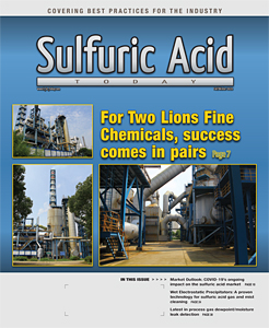 Sulfuric Acid Today 2020 Fall Winter Issue